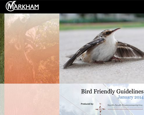 Bird Friendly Guidelines - Markham